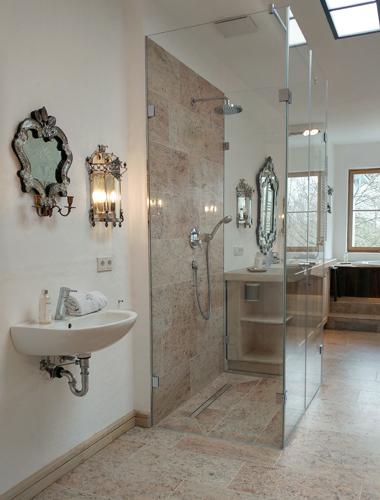 U-Dusche Spiegelart