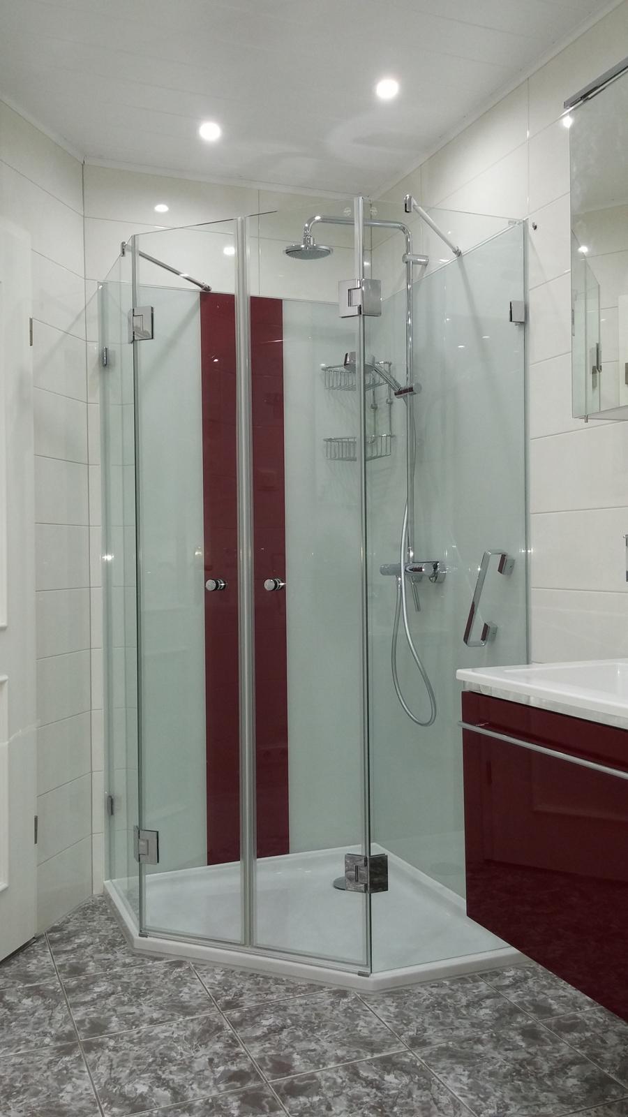Fünfeck-Dusche