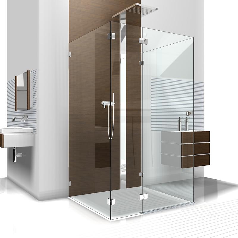 U Dusche Aus Glas Duschabtrennung Aus Glas In U Form Dusche Als U