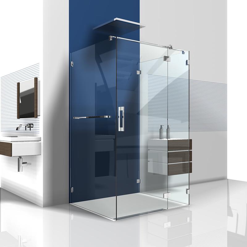 u dusche aus glas duschabtrennung aus glas in u form dusche als u. Black Bedroom Furniture Sets. Home Design Ideas