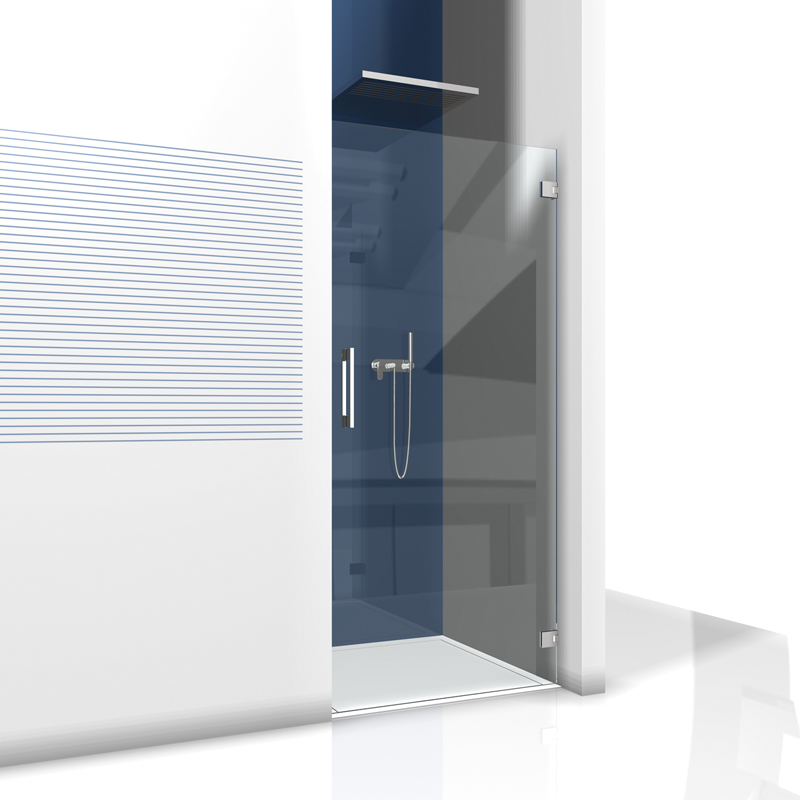 glas duschabtrennung nischendusche glasdusche f r nische glasdusche. Black Bedroom Furniture Sets. Home Design Ideas
