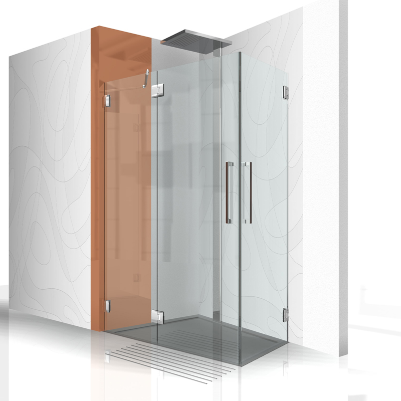 sonderl sungen duschabtrennung dachgeschoss duschabtrennung. Black Bedroom Furniture Sets. Home Design Ideas