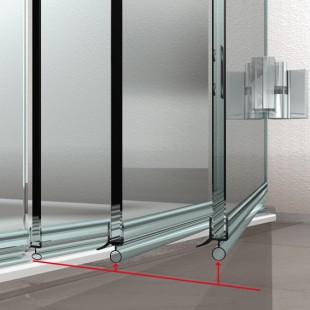 duschwand havel hebe senk mechanismus duschenserie spiegel art. Black Bedroom Furniture Sets. Home Design Ideas