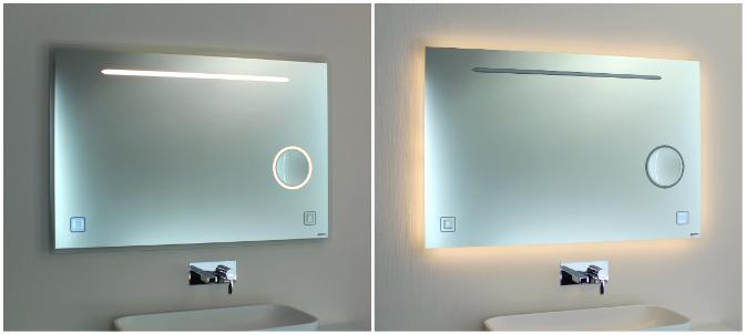 Badspiegel 08.2 Beleuchtung