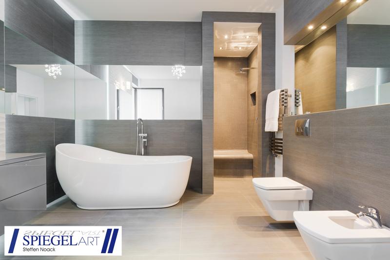 Hochwertige badspiegel bei spiegel art for Spiegel geschichte logo