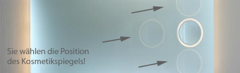 badspiegel mit led beleuchtung modell 08 2. Black Bedroom Furniture Sets. Home Design Ideas
