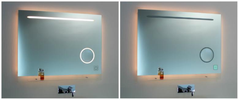 badspiegel mit rasierspiegel neues kosmetikspiegel modell. Black Bedroom Furniture Sets. Home Design Ideas