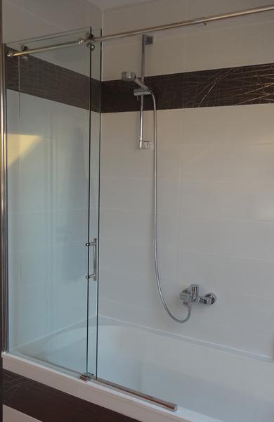 Schiebetürsystem fürs Bad