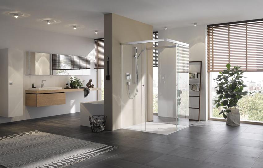 Schiebetür Duschsystem