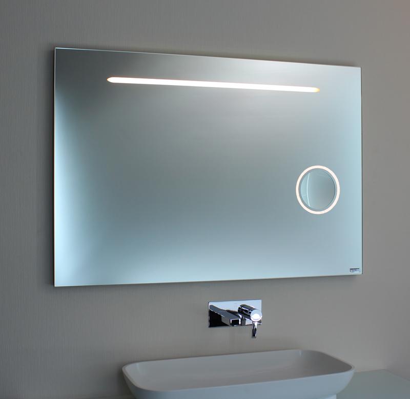 Badspiegel LED + Kosmetikspiegel 00-08