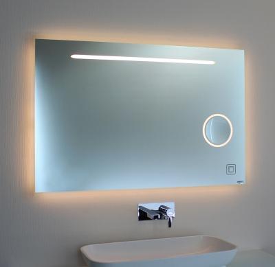 Badspiegel LED mit Kosmetikspiegel 00-08.1