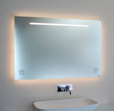 Badspiegel LED mit Ambientebel. 00-06.2