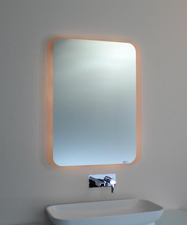 badspiegel led mit ambientebel 00 10 spiegel art. Black Bedroom Furniture Sets. Home Design Ideas